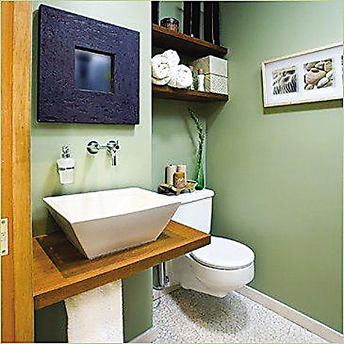 而实际上,卫浴柜若选择对了,就可以大大增加卫生间的收纳空间.